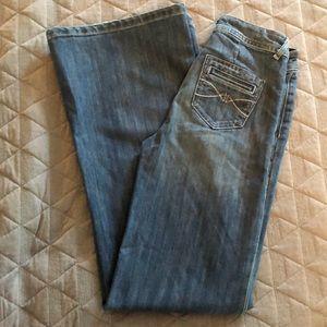 Jordache High Waisted Flare Jeans